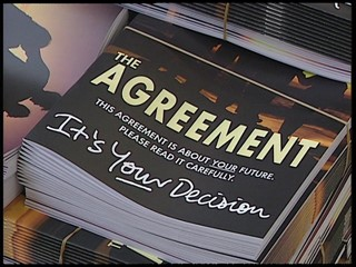 Belfast Agreement getting Printed