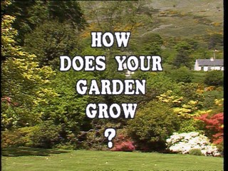 How Does Your Garden Grow?: Major Gerald and Margaret Reside