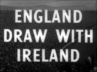 England Draw with Ireland