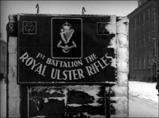 Shamrocks for Royal Ulster Rifles