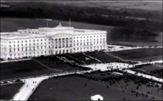 Prince of Wales opening Parliament Buildings at Stormont