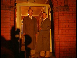 Gilbert & George Exhibition Launch and Protest