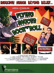 Poster for Flying Saucer Rock 'n' Roll