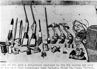 IRA Arms and Ammunition Captured