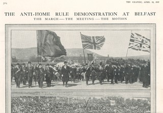 The Graphic. Anti Home Rule Demonstration