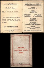 Malone Football (rugby) Club Programme