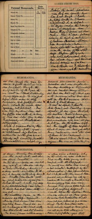 Irish Civil War Diary