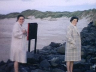Super 8 Stories Extra Footage: Family Day Out Along Antrim Coast