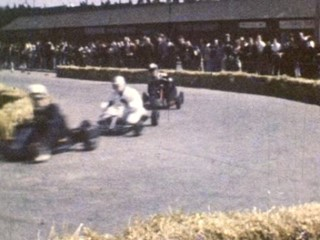 Super 8 Stories Extra Footage: Go Kart Racing in May's Meadow, Belfast
