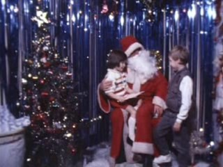 Super 8 Stories Extra Footage: Shopping Centre Santa