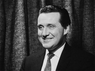 Adrienne McGuill Meets Patrick McNee