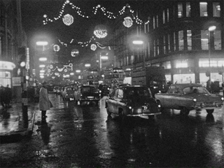 Belfast's Christmas Lights, 1964