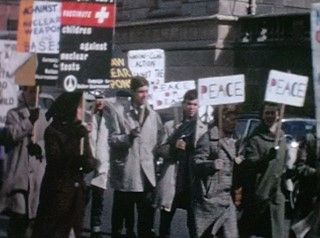 Look back at Northern Ireland's Campaign for Nuclear Disarmament